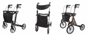 XXL brede Rollator voor bredere en zwaardere mensen, ook bij overgewicht