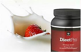 Dieetpro, afvallen met hulp van shakes met heerlijke smaken