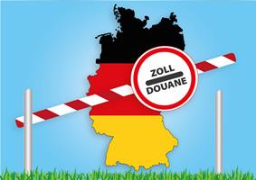 Duitsland verbiedt over de grens winkelen vanwege corona toename