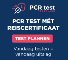 PCR Test voor particulieren en bedrijven met reisdocument